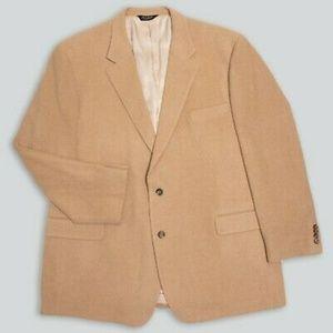 Jos. A. Bank Camelhair Blazer Sport Coat Jacket 44